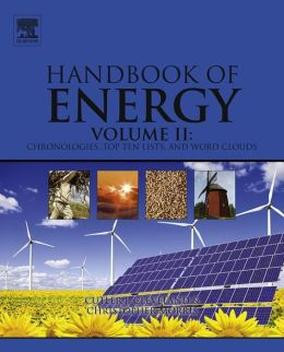cover image, handbook of energy