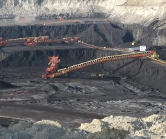 Capital-intensive surface coal mining in Gillette, WY